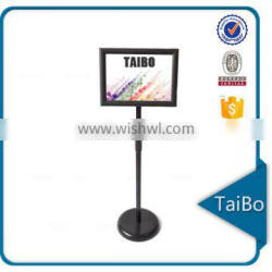 China adjustable a4 sign stand, billboard stand, sign holder