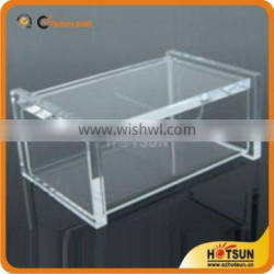 acrylic office accessories,business card holder