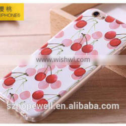 For iphone 6 phone case good quality transparent smartphone cases