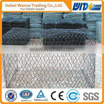 Hot dipped galvanized gabion basket low prices for sale