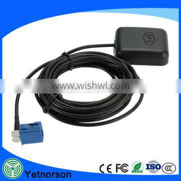Hot sale gps antenna 1575.42MHZ active car tv gps antenna with Fakra connector and best price