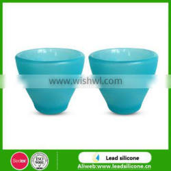 Food-grade Insulated Silicone Baby Drinking Cup/Children Cup With Silicone