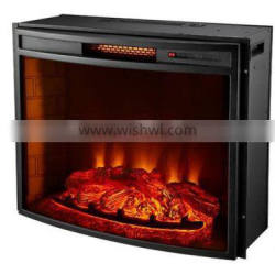 "Compact 28"" Media Bult-in LED Electric Fireplace Insert"