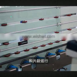 China new type and service vertical cnc insulating glass production machine line