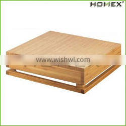 Bamboo Food & Cake Serving Riser Food Display Rack Homex BSCI/Factory