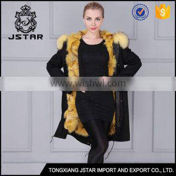 China wholesale supplier fashion fur collar coats for sale