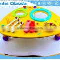 wooden musical toys percussion instruments two drum table xylophone drum symbol Noisy /educational wooden toy/