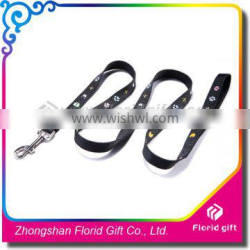 New products hot sales cheap polyester custom pet leashes