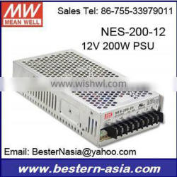 12V 200W Meanwell switching power supply NES-200-12
