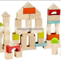 colorful various wooden blocks