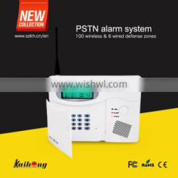 Intelligent Home Security Alarm System with LED screen