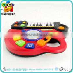 Best Gift for kids educational toy electronic organ plastic toy guitar