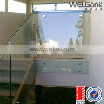 AS/NZS 2208 laminated glass 6mm tempered laminated glass