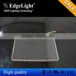 Edgelight High brigtness factory direct sale customized led light guide panel with high quality
