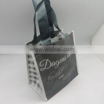 Promotion Good Style Printed Laminated Soft Tote Non Woven Shopping Bag
