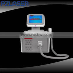 Newest Portable Diode Laser 808nm Hair Removal Equipment / permanent hair removal