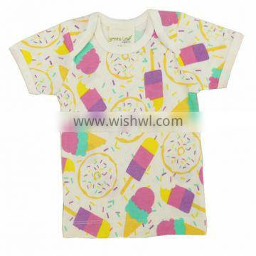 Organic Babies t shirt and Short Sleeve babies t shirt with Best Quality new designed long sleeve babies t shirt