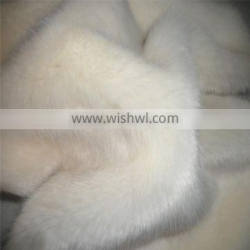 softly and smooth faux rabbit fur fabric