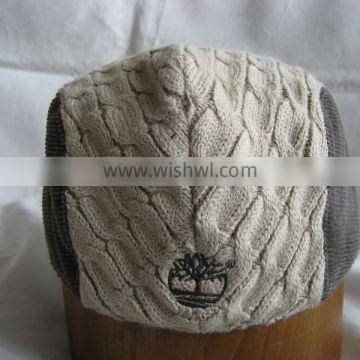 Winter knited Ivy cap newsboy ivy cap with Flat Embroidery