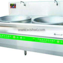 commercial stainless frying stove Induction cooker double stove