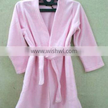 An elite bath gown is made of cotton wool.