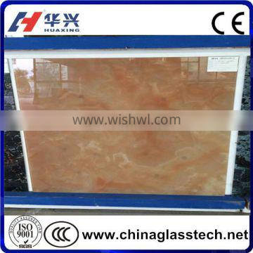 CE, CCC, ISO Factory Supply Tempered decorative building construction glass panel
