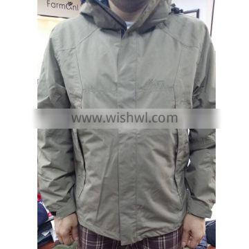 wholesale price windproof 100%polyester jacket on-hand inventory