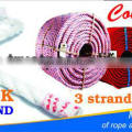 professionally produce pp rope with UV protection and waterproof