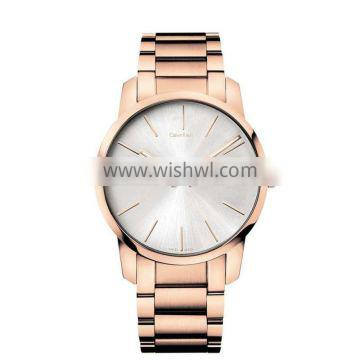 2016 new women watches products wholesale china factory watch with stainless steel print your logo