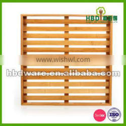 High quality Wood bamboo bread serving tray