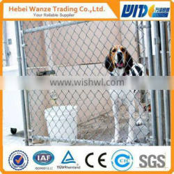 chain link fence fitting/6 foot chain link fence/black powder coated chain link fencing