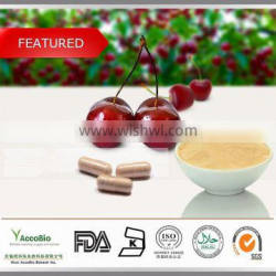 High quality Acerola cherry extract powder/17% 25% Natural Vitamin C extract/ Acerola extract