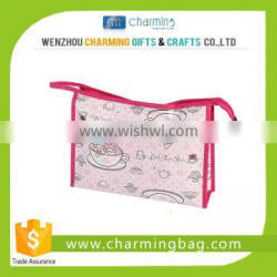 Simple Plain Cosmetic Bag with CMYK Printing