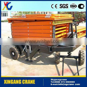 Professional Manufacturer of SJY Model Mobile Hydraulic Scissor Lifting Platform