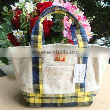 Custom Made Reusable Shopping Bag With Zipper, Foldable Bag Online Shopping India Canvas Beach Bag