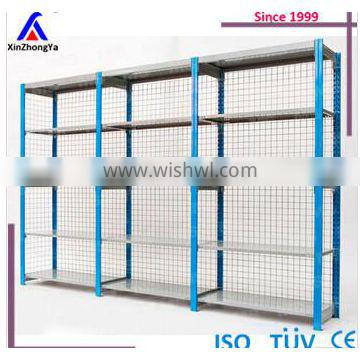 5 layer medium duty clip shelving with sloted posts
