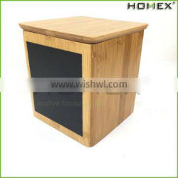Bamboo Kitchen Food Storage Container Bamboo Canister Homex BSCI/Factory