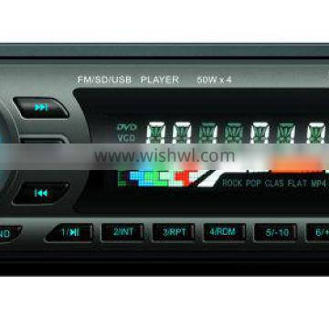 Fixed Panel 6228 MP3 MP4 FM/AM USB SD AUX CAR RADIO PLAYER