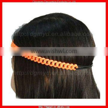 15MM wide chain link hair band for Ladies (MYD-2043)
