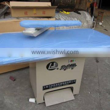 LJ Steam ironing table laundry iron table (used for laundry,hospital,hotel,school)
