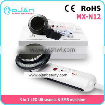 1MHz Ultrasonic + Infrared + EMS slimming home use device