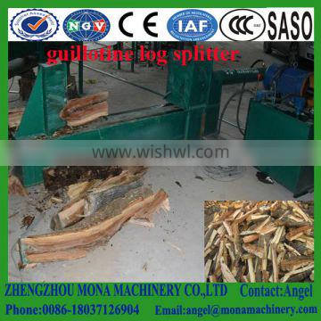 Industrial Double Cylinder Vertical Wood Log Cutter and Splitter