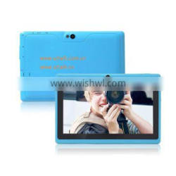 Factory price 7 inch Q88 tablet pc dual camera with flash light