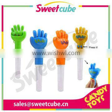 Rock Paper Scissors candy toy