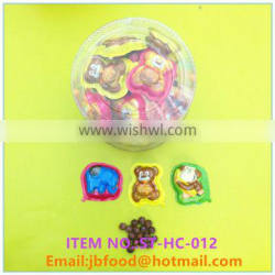 13g cartoon animal cup chocolate biscuits ball