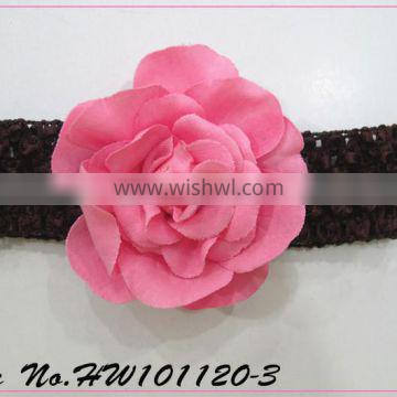 girls crochet flowers headband girls crochet headbands