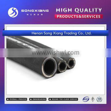 Stainless steel spiral china oil hydraulic pipe rubber hose