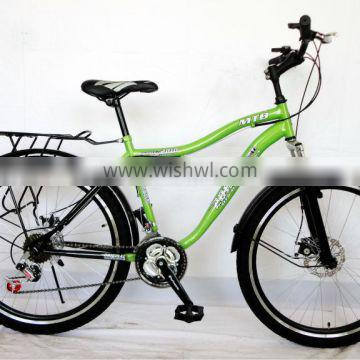 26inch steel new model green mountain bicycle