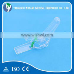 Large production sterile plastic disposable Vaginal speculum