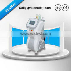 Stationary Hair Removal Ipl & RF & Speckle Removal E-light 3 In One Device Elight Beauty Machine 640-1200nm